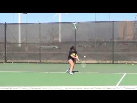 Alexandria Rodriguez- College Tennis Recruitment Video