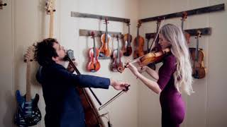 """""""Here Again"""" by Elevation Worship - Violin and Cello Cover"""