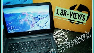 Unboxing and Review of HP 240 G5 Notebook ||Teknologia Geek.