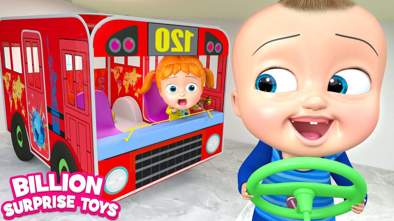 Wheels on the Bus Indoor | BST Kids Songs & Nursery Rhymes
