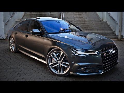 2017 Audi S6 (450hp, V8 4.0TT) - Launch, Walkaround, Interior, Exterior