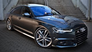2017 Audi S6 (450hp, V8 4.0TT) - launch, walkaround, interior, exterior