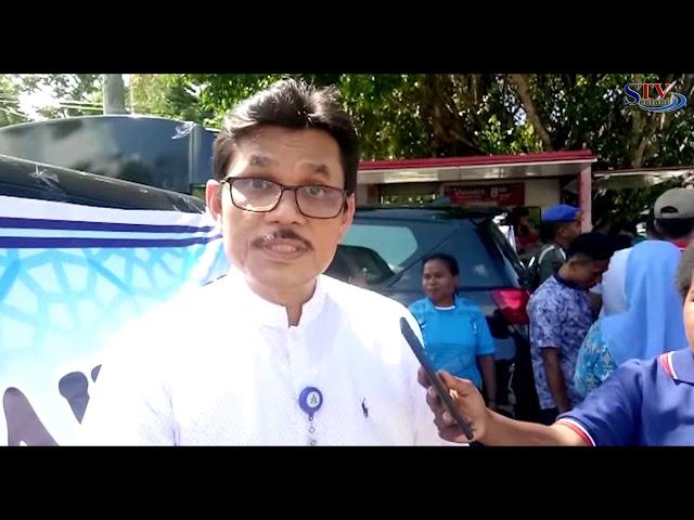 PT. TASPEN Menggelar Pasar Murah Dilingkup Pemda. Kabupaten Jayapura   | Sentani TV