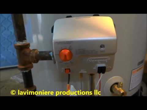 gas waterheater replacement from start to finish part 2 of 2