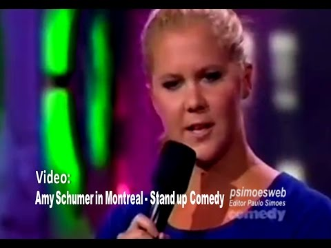 amy schumer in montreal just for laughs stand up comedy youtube