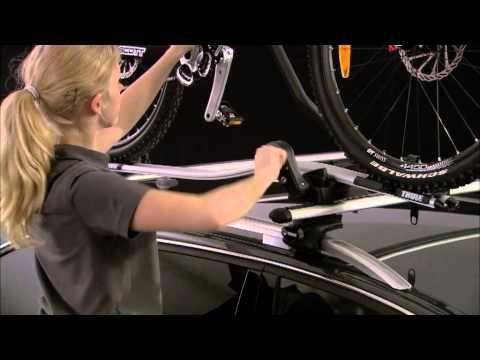 Thule proride 591 fietsendrager dakmontage montage handleiding