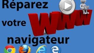 Réparez votre navigateur Web (Chrome, Firefox, Internet Explorer, Edge)
