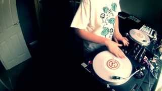 DJ P-NUTS | J DILLA - TWO CAN WIN SCRATCH/TURNTABLISM ROUTINE | 2014