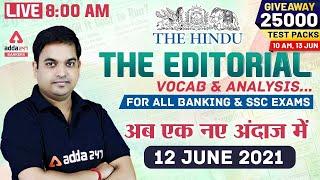 The Hindu Editorial Analysis | The Hindu Vocabulary for Banking & SSC Exams 12th June 2021 screenshot 4