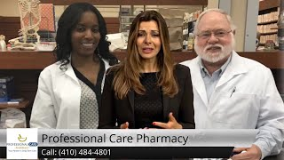 Professional Care Pharmacy Review Annen Woods 21208 MD