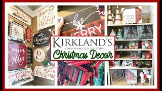 KIRKLANDS CHRISTMAS DECOR 2019 | SHOP WITH ME & HAUL
