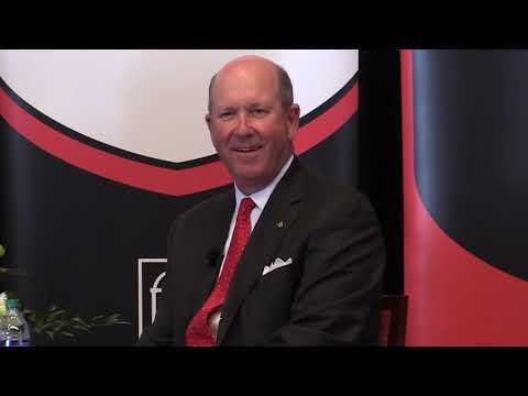 John M. Turner, President and CEO of Regions Financial Corporation   Terry Leadership Speaker Series