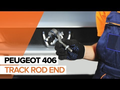 How to replace a Track Rod End on PEUGEOT 406 TUTORIAL | AUTODOC