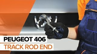 Tie rod end installation PEUGEOT 406: video manual