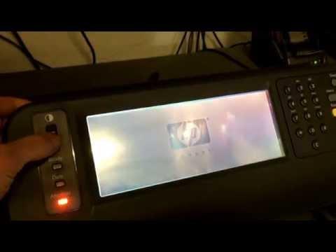 HP Digital Sender 9200C, 28.04.2014, Test nach Retoure
