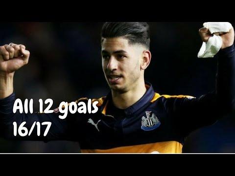 Ayoze Pérez   All 12 Goals 16/17