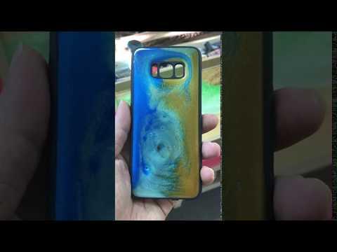 Epoxy Resin phone case Galaxy S8