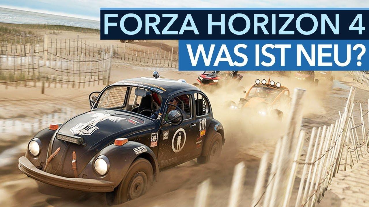 Was ist neu in Forza Horizon 4?