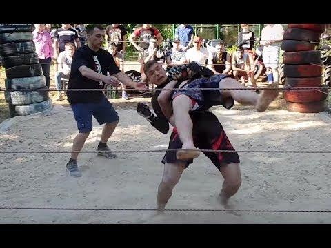 Great Wrestler vs Street Boxer !! MMA Fight !!!