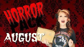 Horror Pack August Unboxing Horror Blu-Rays