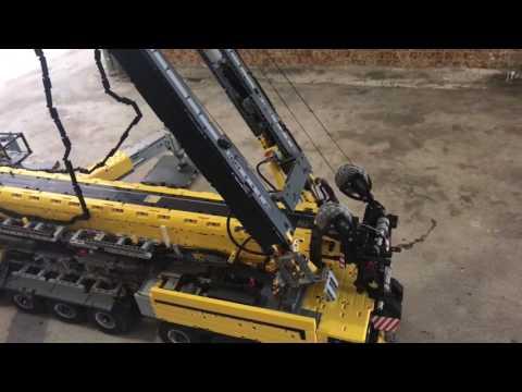 Lego technic full rc mobile crane 9.1  v.2