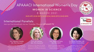 Celebrating Women in Science, an International Woman's Day Special