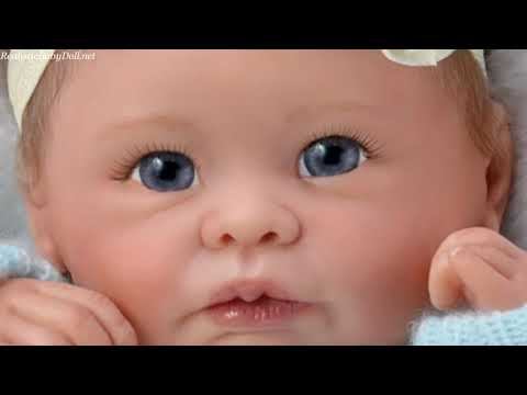 """Sweetly Snuggled Sarah"" Lifelike Baby Girl Doll"