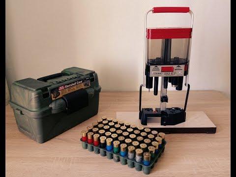 Снаряжение патронов 12 калибра на станке LEE Load-All II 17+