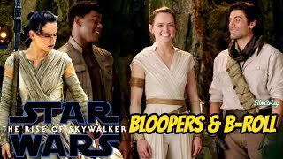 Star Wars: The Rise of Skywalker Bloopers, B-Roll and Behind the Scenes - Daisy Ridley 2019