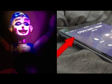 CALLING BALLORA FNAF SISTER LOCATION *BALLORA WAS IN MY CLOSET*