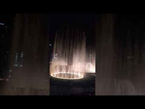 Dubai Mall Fountain | Waterfront View | LIVE | UAE | Ronak Kotecha