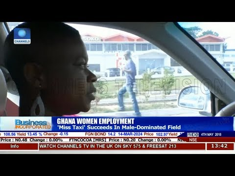 'Miss Taxi' Succeeds In Male-Dominated Field In Ghana |Business Incorporated|