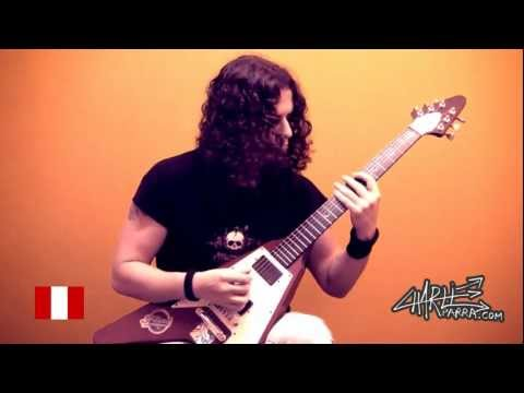 Charlie Parra - A different view (Melodic Metal Guitar)