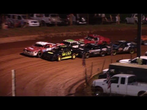 Winder Barrow Speedway Stock Eight Cylinders Feature Race 7/27/19