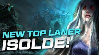NEW TOP LANER ISOLDE - league of legends