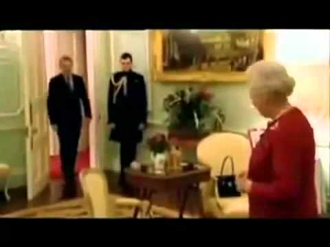Illuminati Handshake Queen,Tony Blair,Pope Exposed