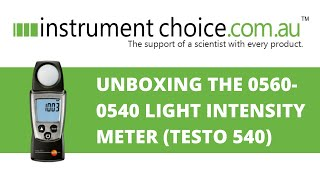 Unboxing the 0560-0540 Light I…