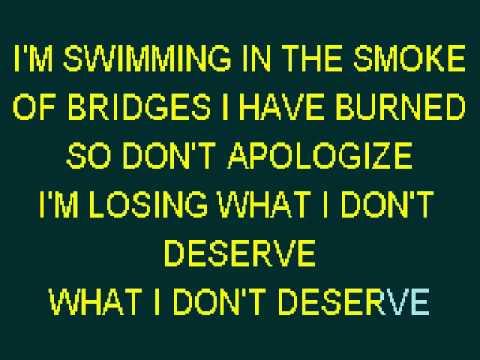 Karaoke:  Burning In The Skies By Linkin Park