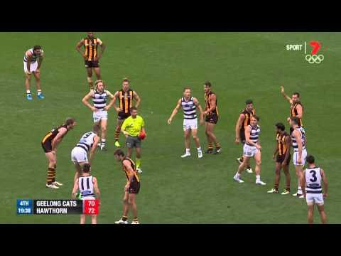 Round 1 AFL - Geelong v Hawthorn Highlights
