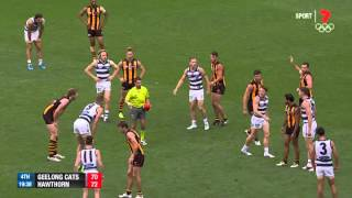 Round 1 AFL - Geelong v Hawthorn Highlights