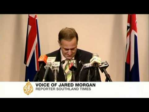 NZ PM denies quake victim was Israeli spy