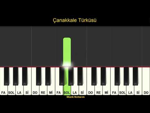 Çanakkale Türküsü Melodika