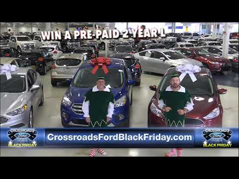 Crossroads Ford Cary Black Friday Giveaway 11 15 17