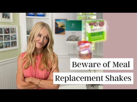 Meal Replacement Shakes And Systems May Do More Harm Than Good For Weight Loss