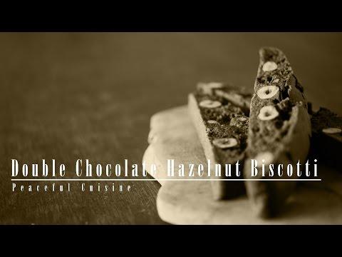 [No Music] How to make Double Chocolate Hazelnut Biscotti
