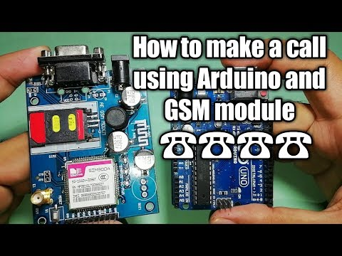 Arduino Tutorial: How to make phone call using the Arduino