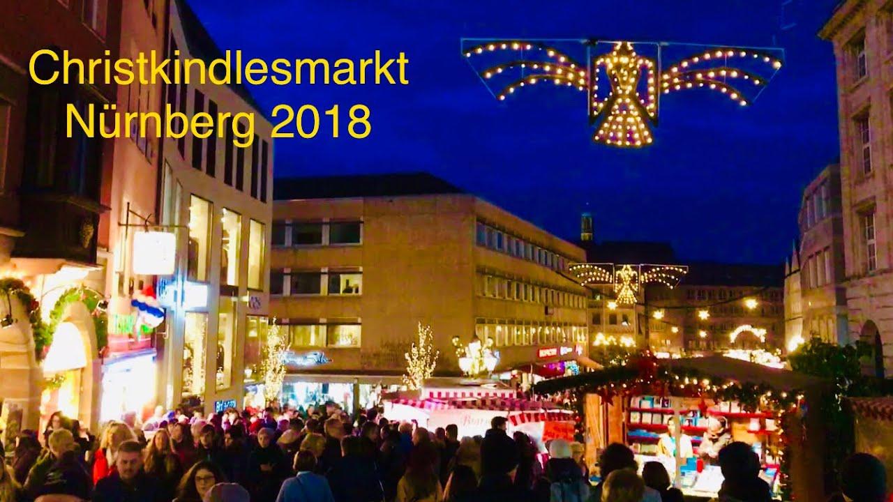 Weihnachtsmarkt Nürnberg.Nürnberg Weihnachtsmarkt 2018 Christmas Market In Germany