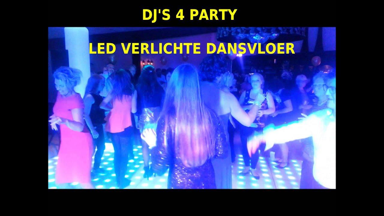 Verlichte dansvloer huren - DJ\'s 4 Party.NL - YouTube