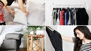 MINIMALISM SERIES | 10 Tips to Go From Messy To Organised