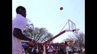 Kyrie Irving (uncle drew) vs. Anchor Man Richard Nta